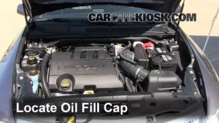 How to Add Oil Lincoln MKS (2009-2013)