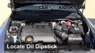 Check Oil Level 2009-2014 Lincoln MKS