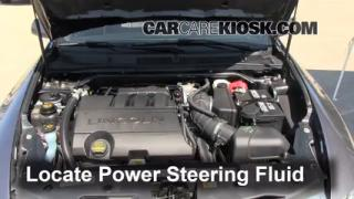 Check Power Steering Level Lincoln MKS (2009-2014)