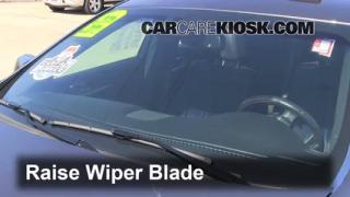Front Wiper Blade Change Lincoln MKS (2009-2013)