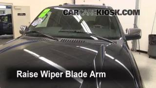 Front Wiper Blade Change Lincoln Navigator (2003-2013)