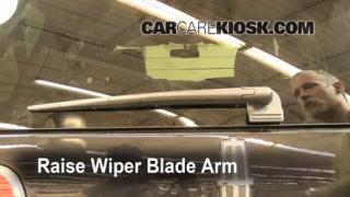 Rear Wiper Blade Change Lincoln Navigator (2003-2013)