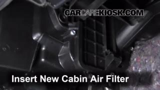2007-2013 Nissan Altima Cabin Air Filter Check