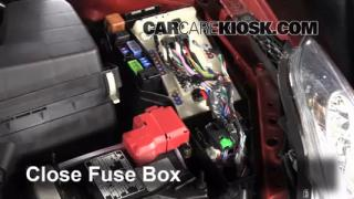 Replace a Fuse: 2007-2013 Nissan Altima