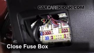 2007-2012 Nissan Altima Interior Fuse Check