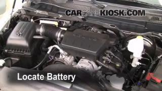 How to Jumpstart a 2011-2013 Ram 1500
