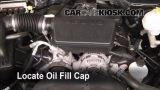 How to Add Oil Ram 1500 (2011-2013)