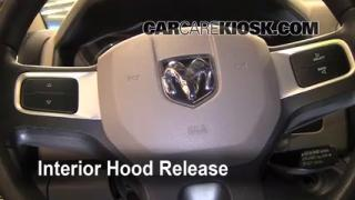 Open Hood How To 2011-2014 Ram 1500