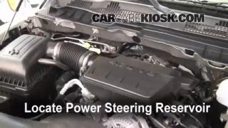 Check Power Steering Level Ram 1500 (2011-2013)