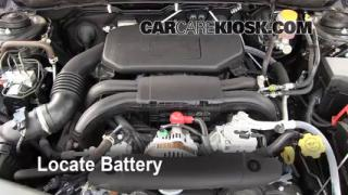 Battery Replacement: 2010-2013 Subaru Legacy