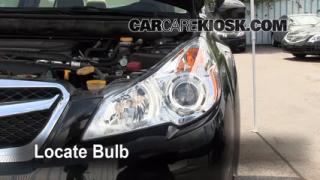 Parking Light Change 2010-2013 Subaru Legacy