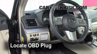 Engine Light Is On: 2010-2013 Subaru Legacy - What to Do