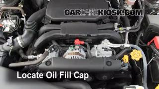 How to Add Oil Subaru Legacy (2010-2013)