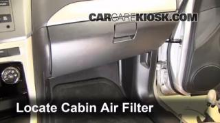 cabin filter replacement chevrolet captiva sport