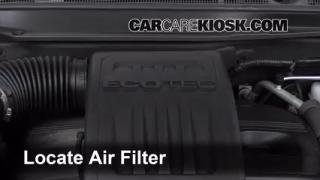 2010-2014 Chevrolet Equinox Engine Air Filter Check