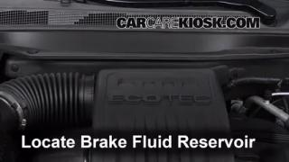 Add Brake Fluid: 2010-2014 Chevrolet Equinox