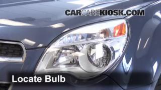Highbeam (Brights) Change: 2010-2014 Chevrolet Equinox