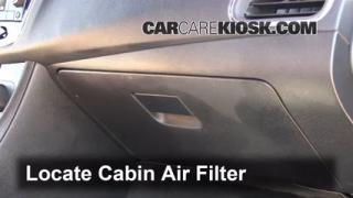 2008-2013 Dodge Avenger Cabin Air Filter Check