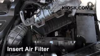 2008-2013 Dodge Avenger Engine Air Filter Check