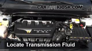 Add Transmission Fluid: 2008-2013 Dodge Avenger