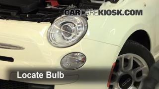 Headlight Change 2012-2013 Fiat 500
