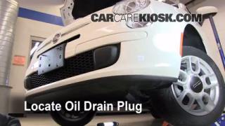 Oil & Filter Change Fiat 500 (2012-2013)