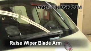 Rear Wiper Blade Change Fiat 500 (2012-2013)