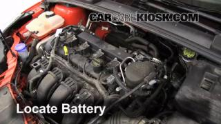 Battery Replacement: 2012-2013 Ford Focus