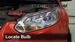 Headlight Change 2012-2013 Ford Focus