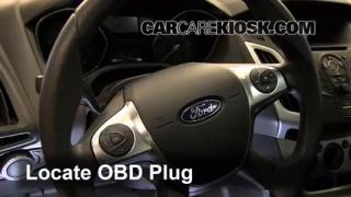 Engine Light Is On: 2012-2013 Ford Focus - What to Do