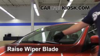 Front Wiper Blade Change Ford Focus (2012-2013)