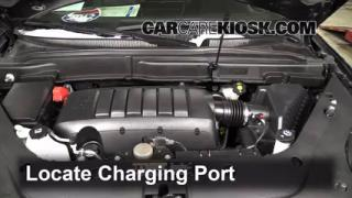 How to Add Freon in a 2007-2013 GMC Acadia