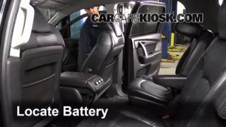 Battery Replacement: 2007-2013 GMC Acadia