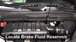 2007-2013 GMC Acadia Brake Fluid Level Check