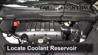 Coolant Level Check: 2007-2013 Acadia
