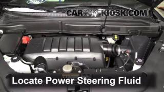 Follow These Steps to Add Power Steering Fluid to a GMC Acadia (2007-2013)