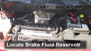 2007-2013 Jeep Patriot Brake Fluid Level Check