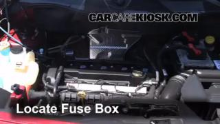 2007-2013 Jeep Patriot Interior Fuse Check
