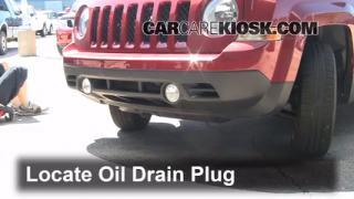 Oil & Filter Change Jeep Patriot (2007-2014)
