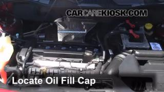 How to Add Oil Jeep Patriot (2007-2013)