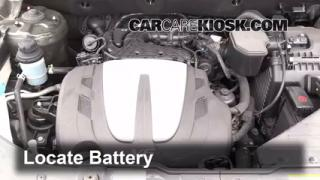 How to Clean Battery Corrosion: 2011-2011 Kia Sorento