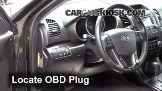 Engine Light Is On: 2011-2011 Kia Sorento - What to Do