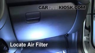 2010-2013 Kia Soul Cabin Air Filter Check