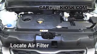 2010-2013 Kia Soul Engine Air Filter Check
