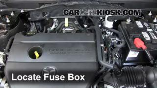Replace a Fuse: 2009-2013 Mazda 6