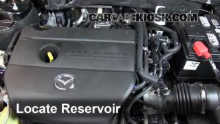 Check Windshield Washer Fluid Mazda 6 (2009-2013)
