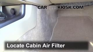 Cabin Filter Replacement: Nissan Murano 2009-2014
