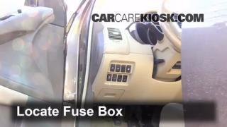 2009-2014 Nissan Murano Interior Fuse Check