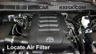 Air Filter How-To: 2008-2013 Toyota Sequoia