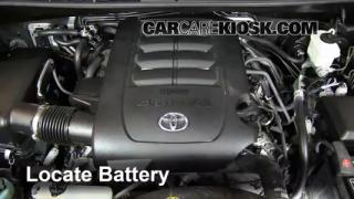 How to Clean Battery Corrosion: 2008-2013 Toyota Sequoia